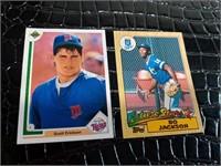 1990 Scott Erickson and 1987 Bo Jackson