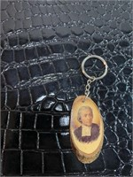 Lucky penny, Reuge Ste. Croix, Wooden Key Chain