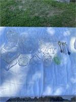 Beautiful Crystal Glassware Lot
