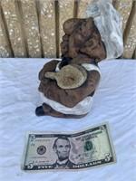 Chef porcelain statue