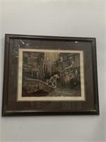 """The Fisherman"" print by John Kelly"