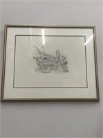 """Junk Vendor? print by Seymour Rosenthal"