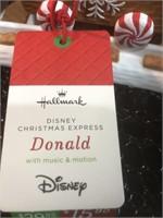 DIsney Christmas Express  Train Track New