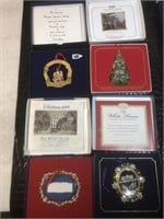 Lot of The White House Christmas Ornaments