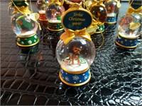 The Danbury Mint The Yorkie Snow Globe Ornament