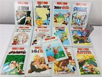 13 BD/Bandes dessinées doubles Astérix