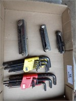 allen wrenches - 5 sets