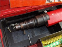 Hilti DX350 power fastener tool in case