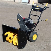 """Yard Machines Snow Blower, 26"""", 8-hp gas eng.  NOTE: This item will be sold at live auction, however absentee bids can be placed if you are unable to attend the auction. More details, video & pictures can be viewed by clicking the catalog tab and view Lot #29."""