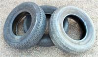 (3) Tires, ST225-75R15