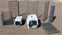 Misc Pet Carriers, Collapsable Enclosure, Roll Wire Fencing