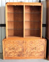 Burlewood Hutch w/Glass Doors (not shown in pic)