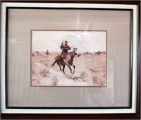 Framed Western Picture/Print