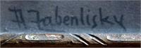 """A Fabenlisky"" signature on print"