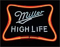 Lighted Miller Sign