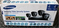 Samsung Video Security System, new in box