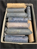 24 rolls of nickels they all say war years did