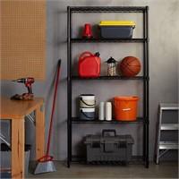 AmazonBasics 5-Shelf Adjustable, Heavy Duty