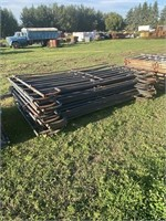 Group of 6 Blue panels 10ftx5ft (oval bar)