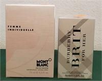 MONT BLANC & BRIT PERFUME SET