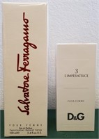 SALVATORE FERREGAMO & D&G PERFUMES