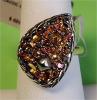 695.00$ NEW JOHN HARDY STERLING COLOR STONE