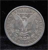 1880 O Morgan Silver Dollar