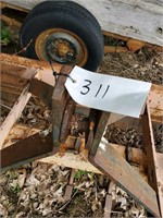 7 FT BOX BLADE WITH SCRAPERS