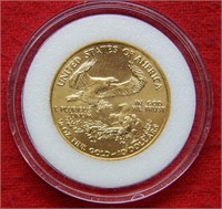 2000 $10 Gold Coin- 1/4 Ounce Fine Gold