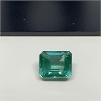 5.85 CT TOURMALINE GEMSTONE TESTED ON GEM ORO