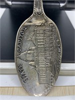 STERLING SILVER SPOON RHODE ISLAND STATE CAPIT0L