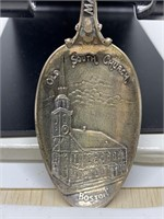STERLING SILVER SPOON OLD SOUTH CHURCH BOSTON