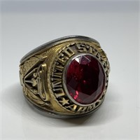 LG US ARMY CLASS RING