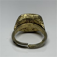 VTG 1976 SUPERMAN RING AND WIZARD OF OZ
