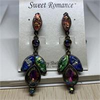 SWEET ROMANCE COSTUME EARRINGS