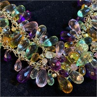 LARGE PRETTY CHUNKY NECKLACE
