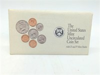 1992 Uncirculated Mint Set
