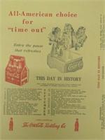 Coca-Cola Book Cover 1940