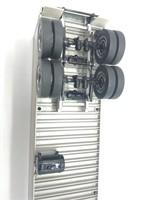 Mack Box Semi Refrigerator Trailer Replica