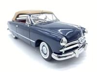 1949 Ford Convertible Die Cast Replica