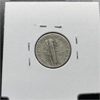1944-D MERCURY SILVER DIME