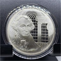 STERLING SILVER PROOF COIN ROUND 32G FRANKLIN MINT