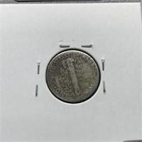 1934 MERCURY SILVER DIME