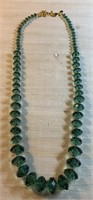 LG JOAN RIVERS CHUNKY STONE NECKLACE