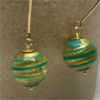 MURANO ART GLASS TYLE EARRINGS
