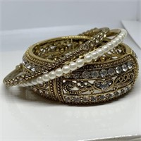 LG GRAZIANO BANGLE BRACELETS