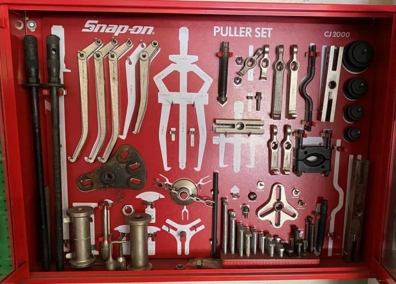 """Snap-On 34"""" Wall Cabinet Puller Set"""