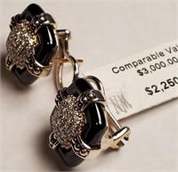 2250.00$ LAGOS BLACK CAVIAR CERAMIC & .50 CTS