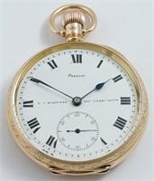 Lancashire Watch Co, 49mm, 9K