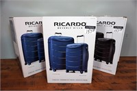 (each) Ricardo 2-Piece Spinner Luggage Sets